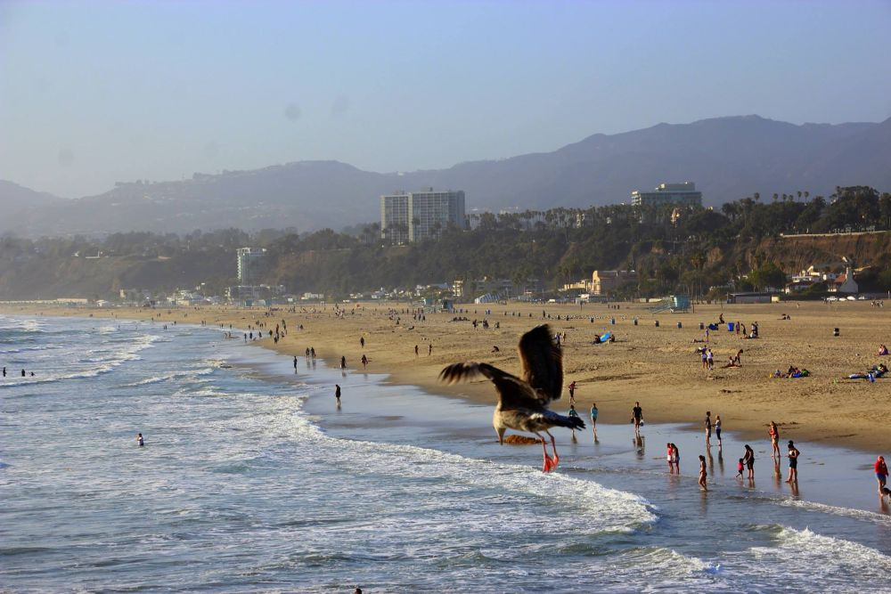 Santa Monica by Beom Photo