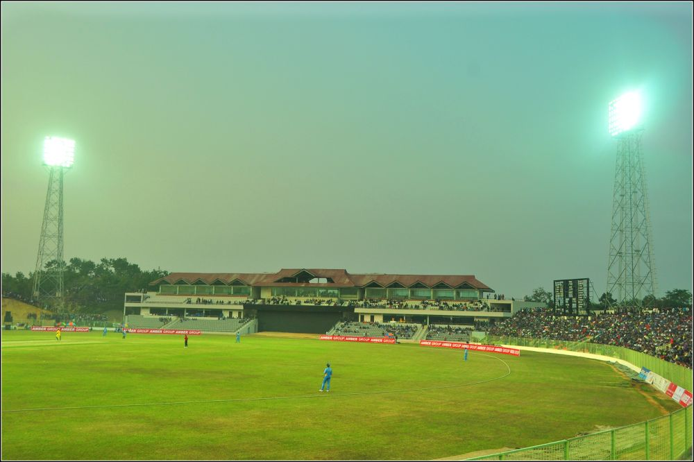 Sylhet Stadium, BANGLADESH by tayearchowdhury