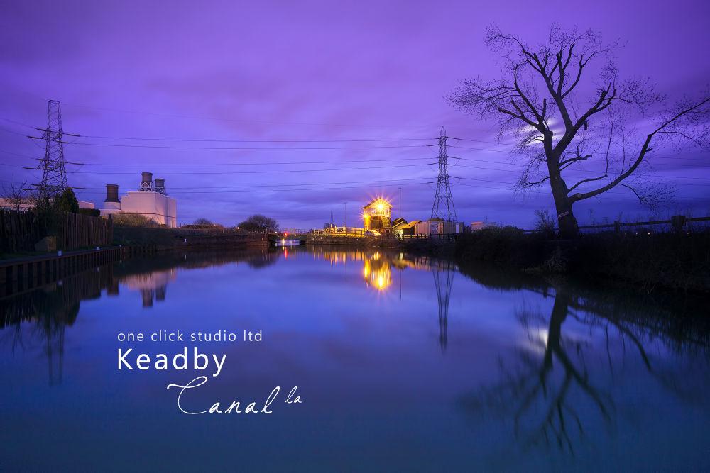 Keadby Canal, UK by leecalvin917