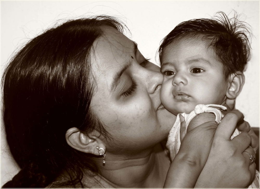 mother and her baby by asimchaudhuri5