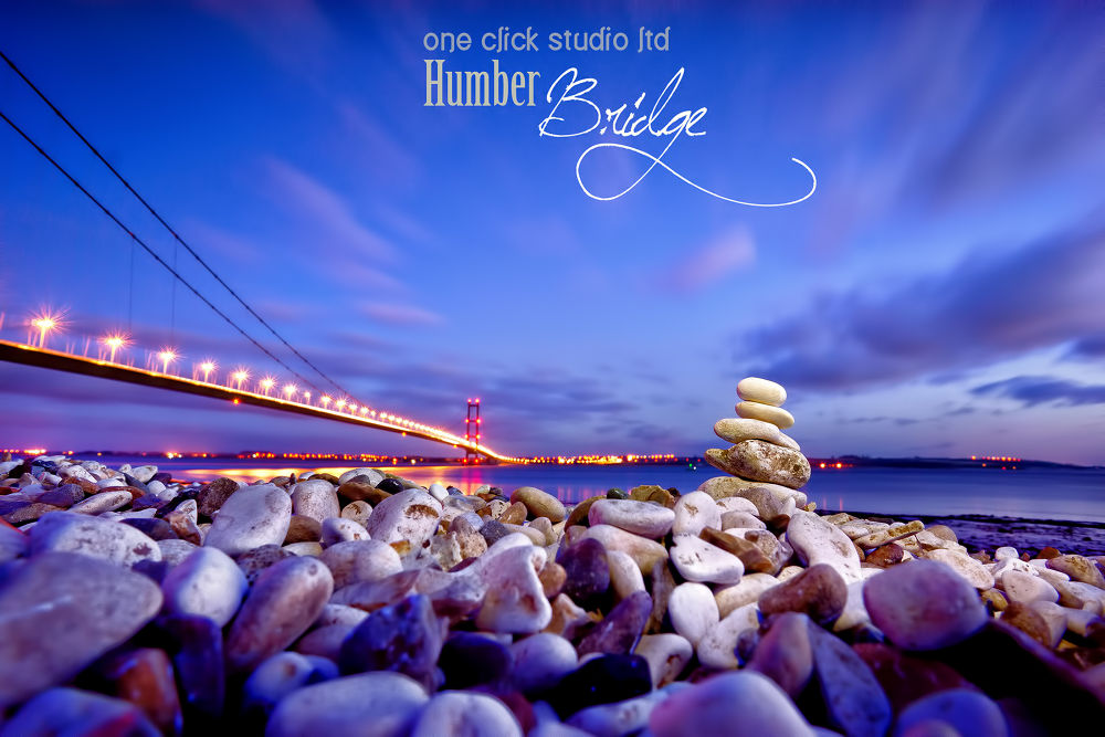 Humber Bridge, Hull, UK by oneclick
