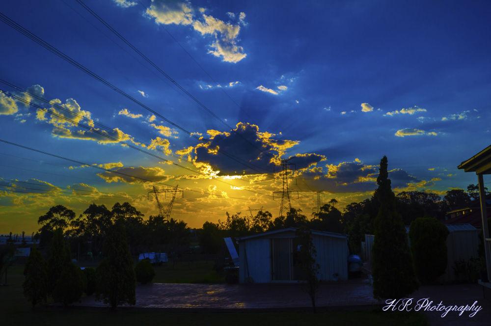 sunset.JPG by Hanna Saba
