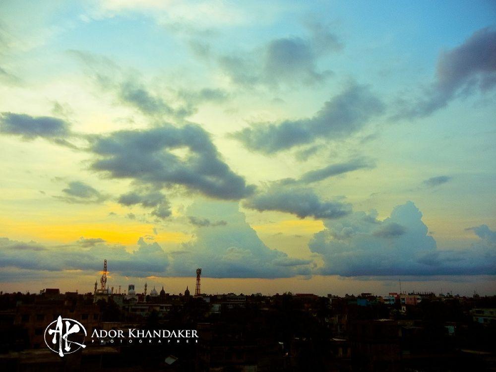 Busy Clouds In Khulna City ,Bangladesh by Khandaker Almas Mahmud Ador