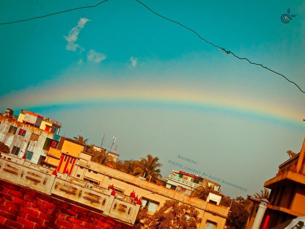 Awesome Rainbow by Khandaker Almas Mahmud Ador