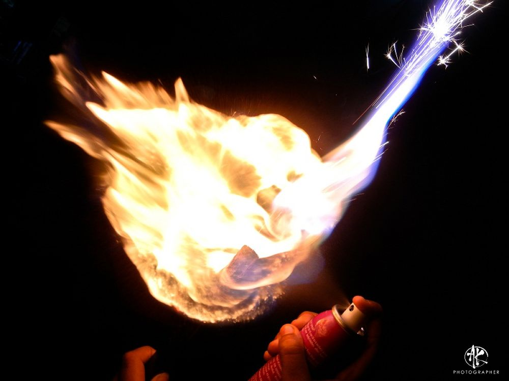 Fire is always Hot......don't try this at home.............. by Khandaker Almas Mahmud Ador