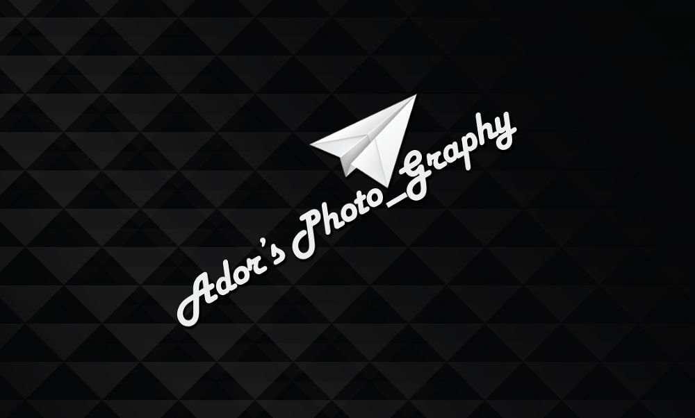 Ador's Black and white business card - front  by Khandaker Almas Mahmud Ador