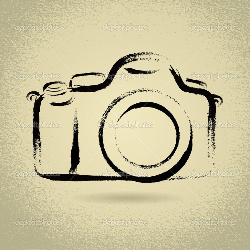 DSLR-Camera-with-Brushwork by Khandaker Almas Mahmud Ador