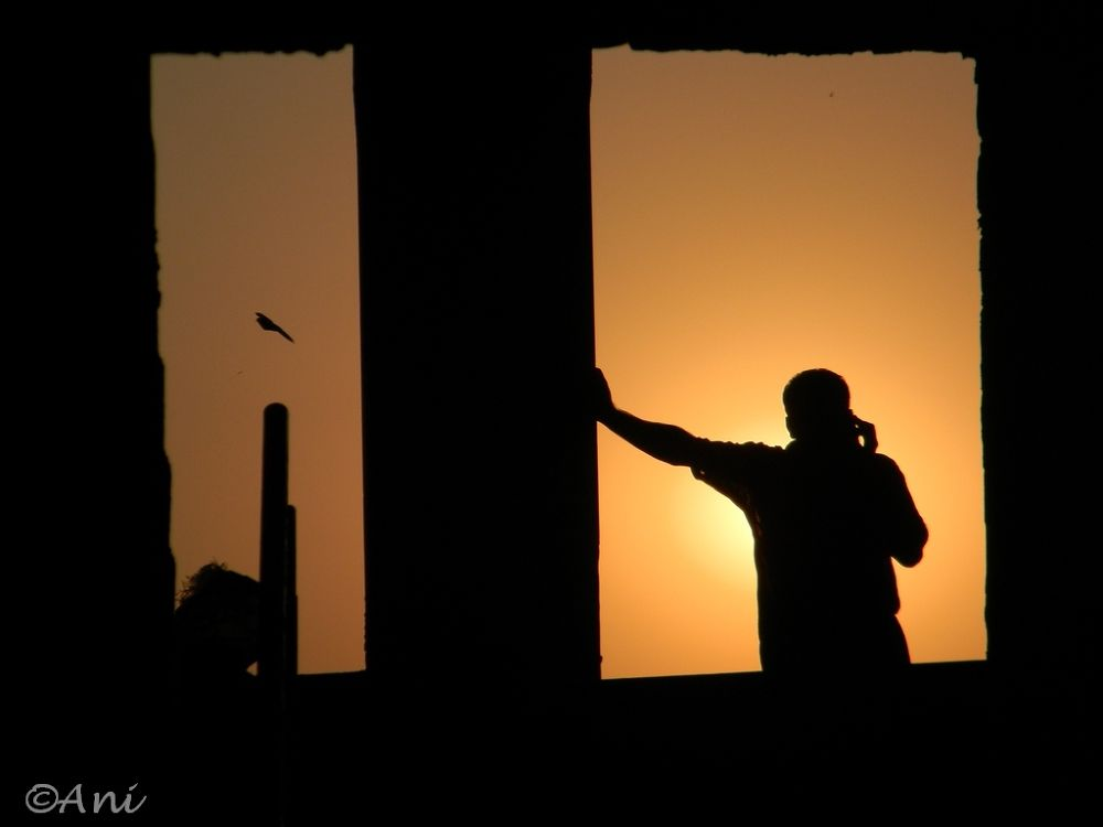 A call in the evening ... by aniruddhakatipalla