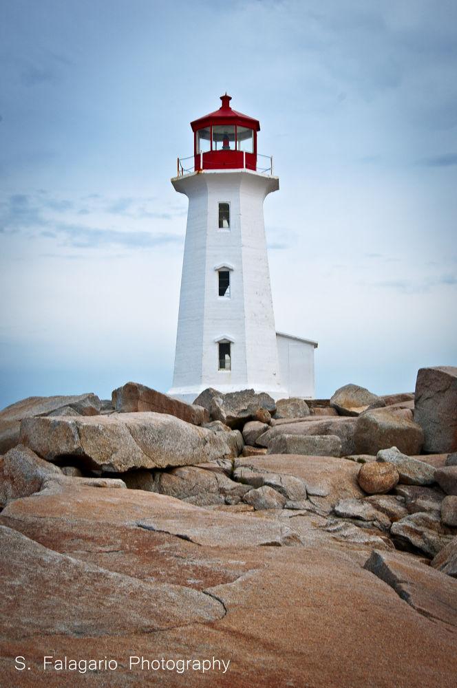 Peggy's Cove Lighthouse, Nova Scotia by sfw_photos