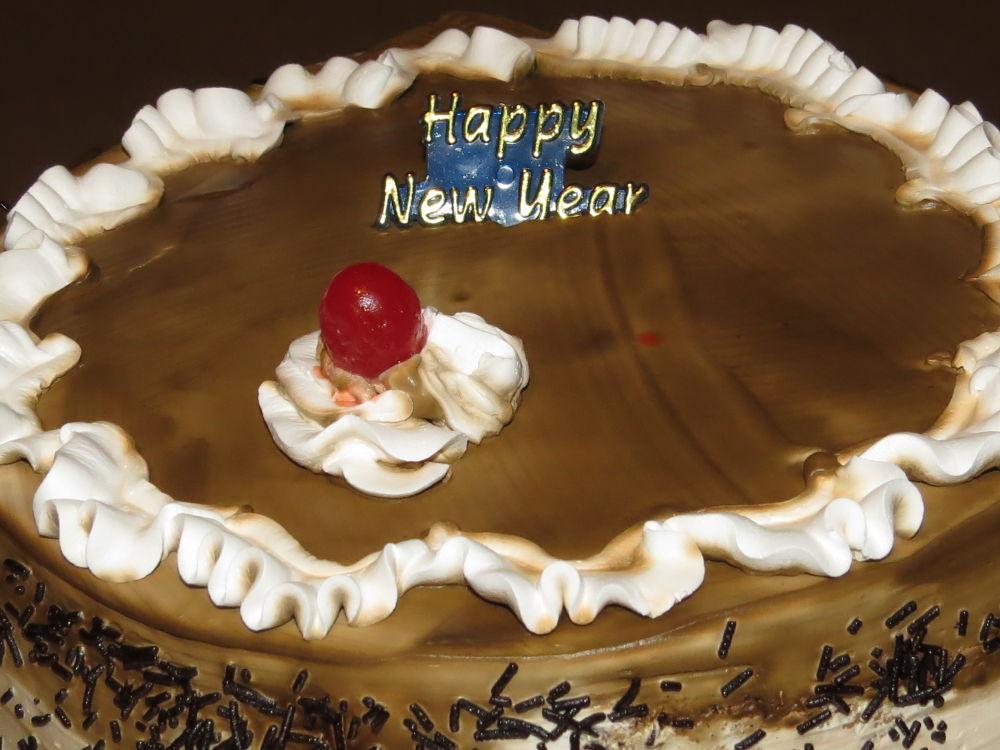 happy new year by Sai Krupa Chary