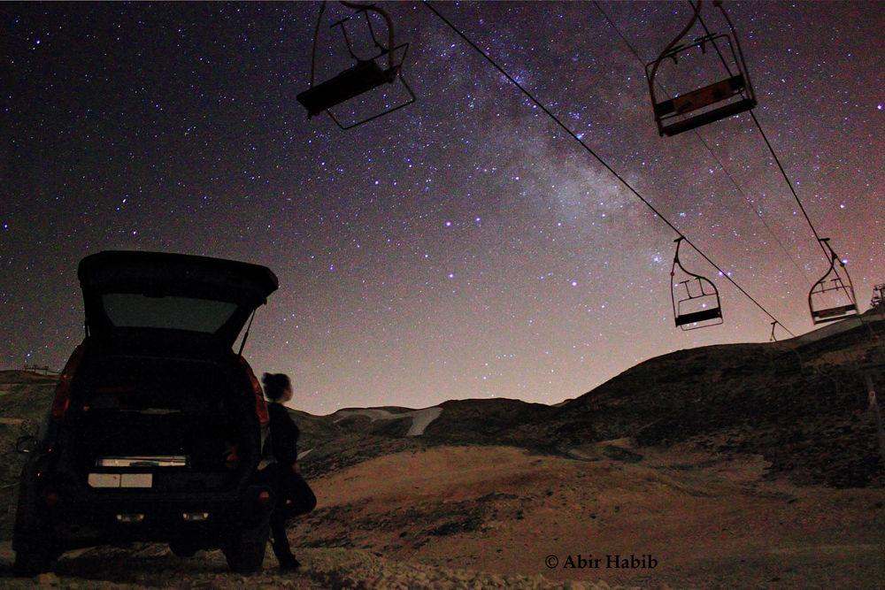 What is behind my Galaxy by abirhabib
