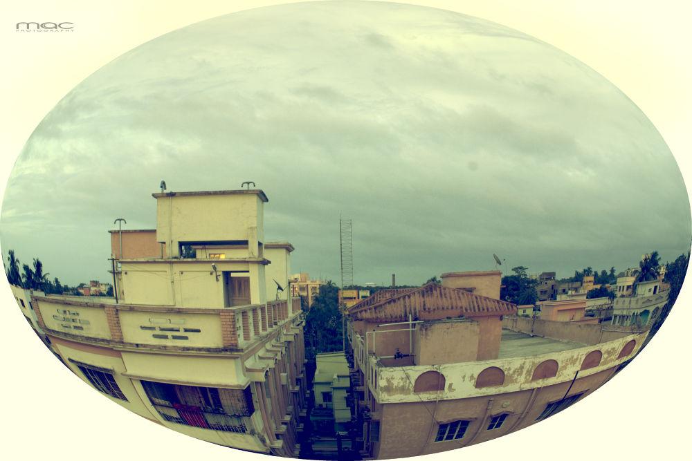 Chandannagar, A cloudy day.... by mac_savoir_et_devoir