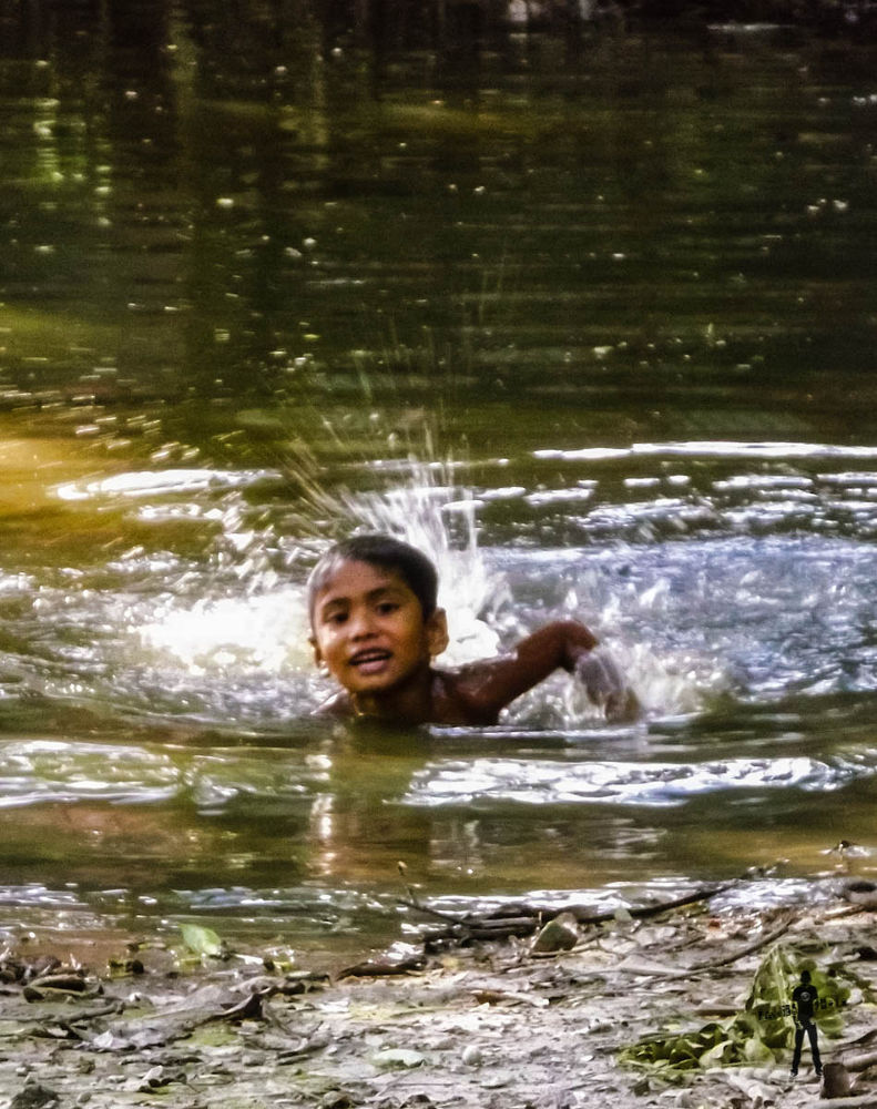 Swimming on a hot summer day in the pond.jpg by ЯДJJIБ'S PЂØŦØ