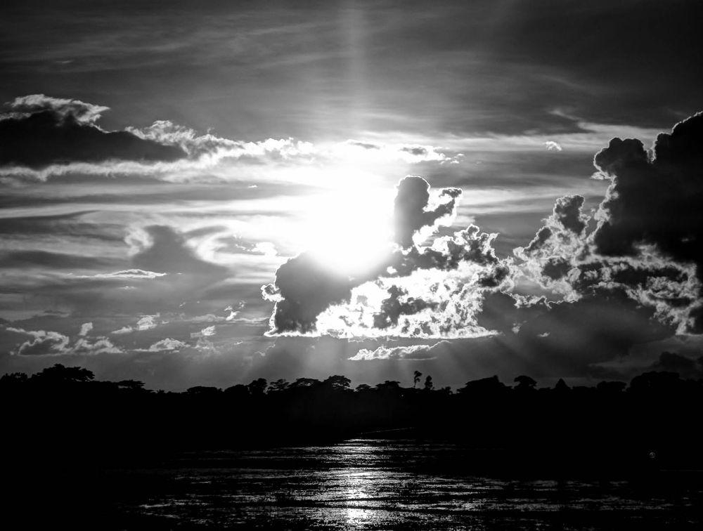 Sunset - B&W Natural by ЯДJJIБ'S PЂØŦØ
