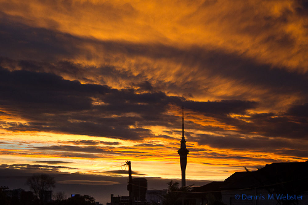 -130605-sunset from Holy Trinity Cathedral, Parnell, Auckland (and apart from a slight straighten, i by tastigr