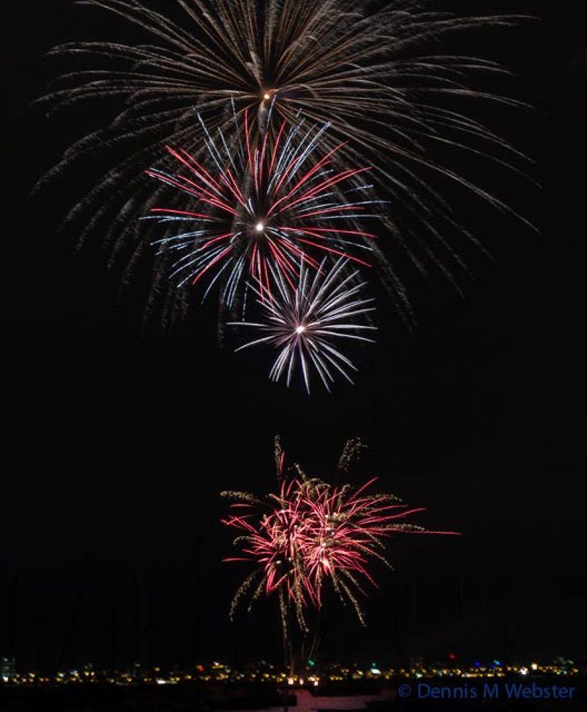 Tall Ships Fireworks Williamstown by tastigr