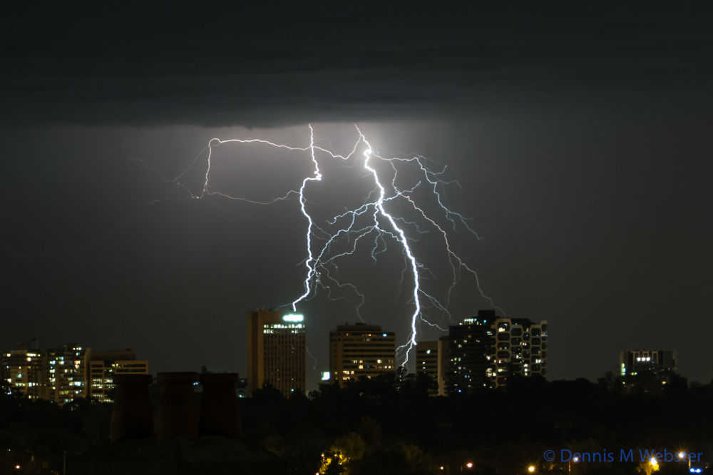 Photo in Nature #ypa2014 #lightning #drry lightning #summer #storm #heatwave #melbourne #night