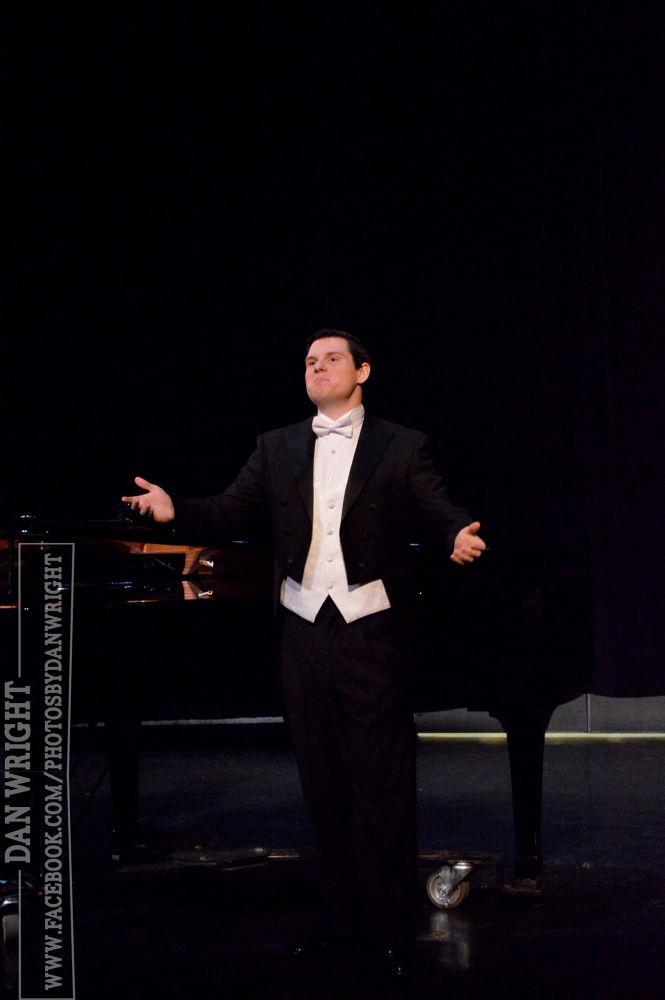 Chris' Senior Vocal Recital by DanWrightPhotography
