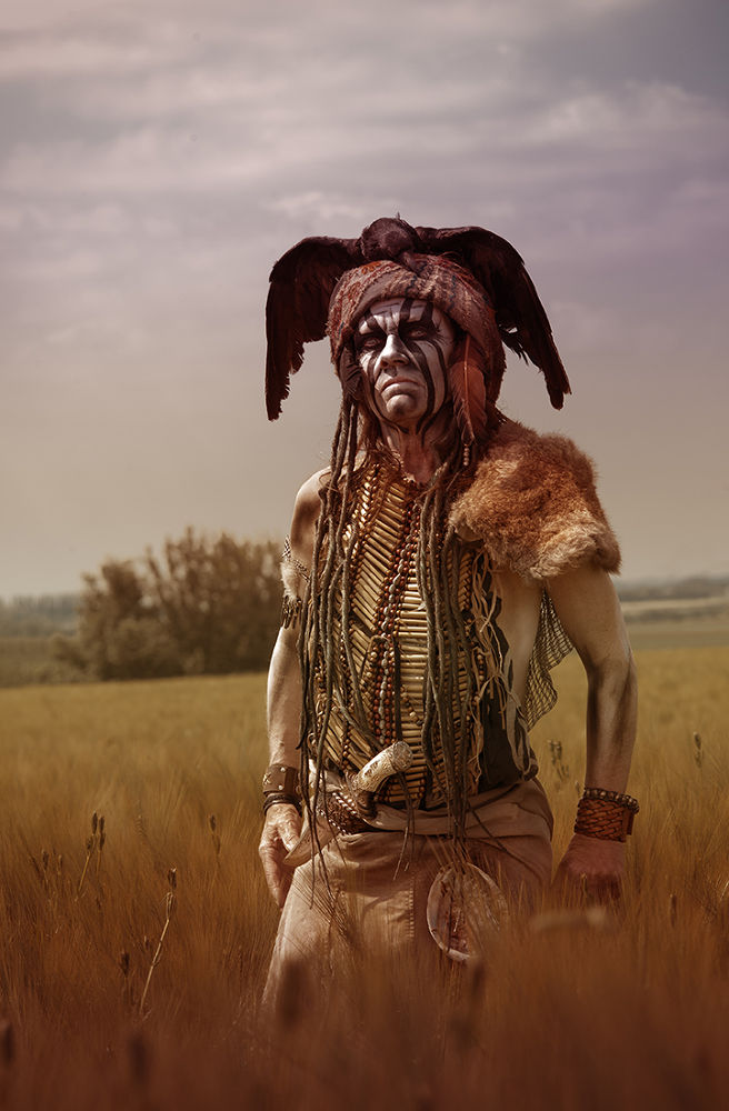 Tonto, to catch a crow  by jkerfs1