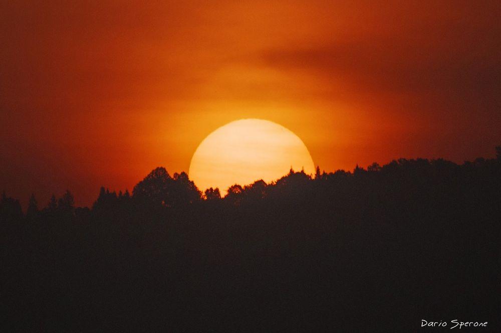 L'alba di casa mia by dariosperone