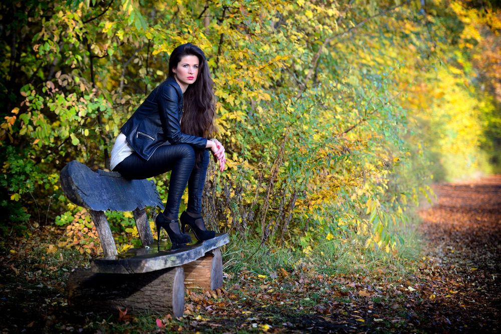 at a beautiful autumn day, thanks to Antonija, Berlin 2013 by juergenfreymann