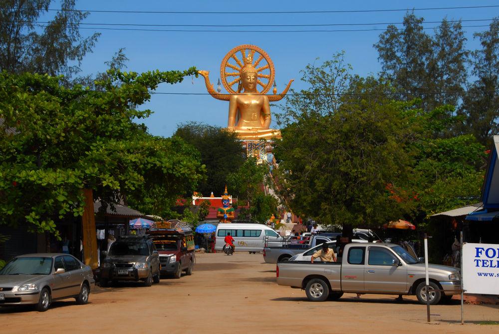 Buddha, Ko Samui, Thailand 2009 by juergenfreymann