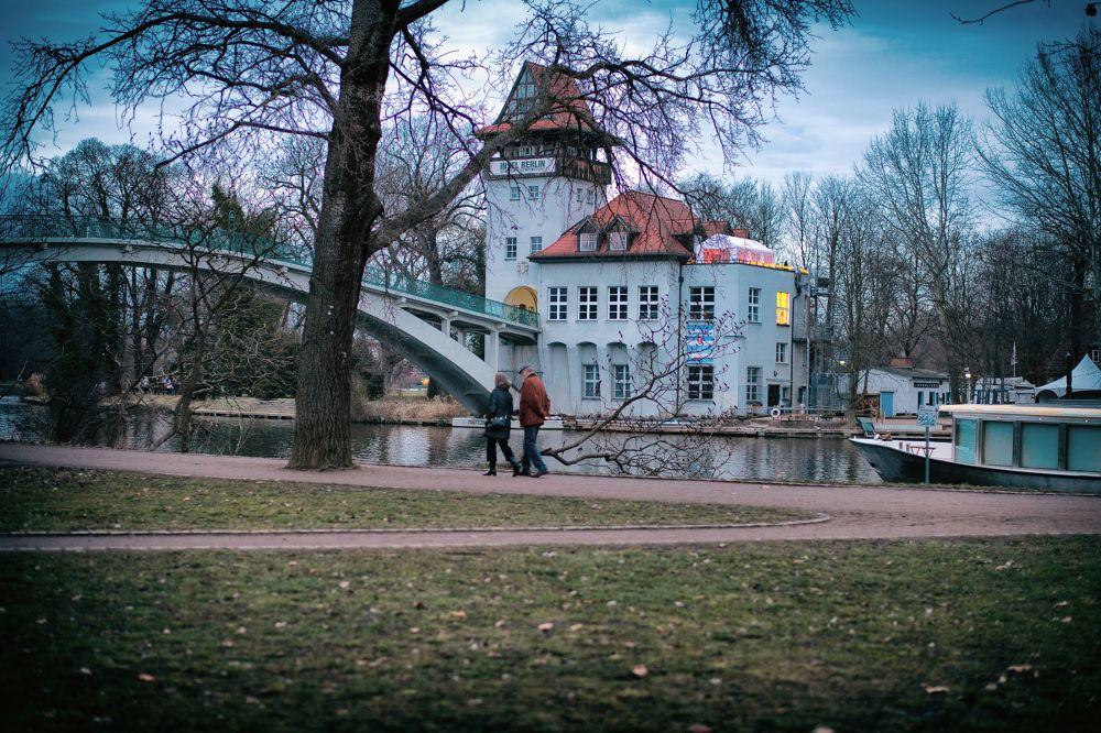 blue hour, Berlin 2014 by Juergen Freymann