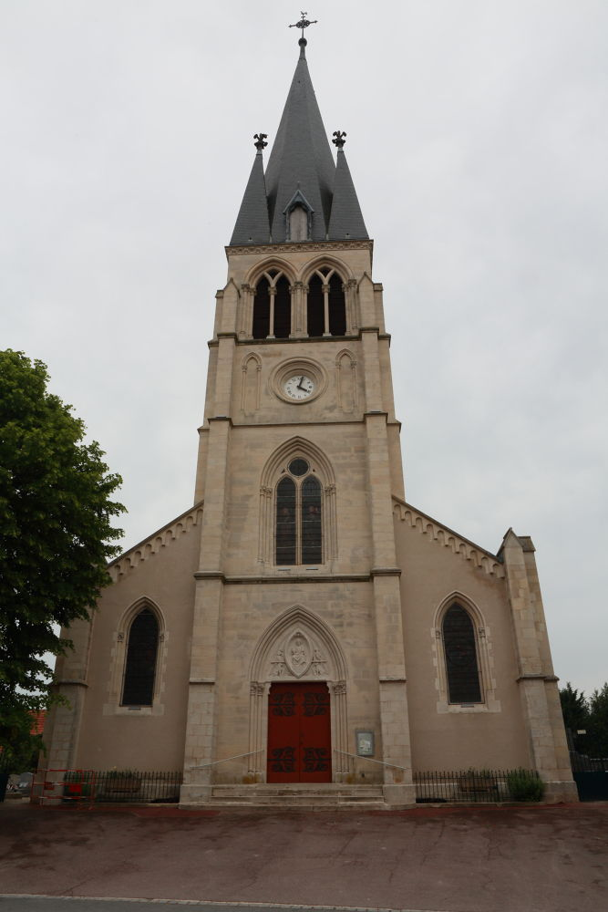 Eglise de Tours sur Marne by jeanpierrepron5120