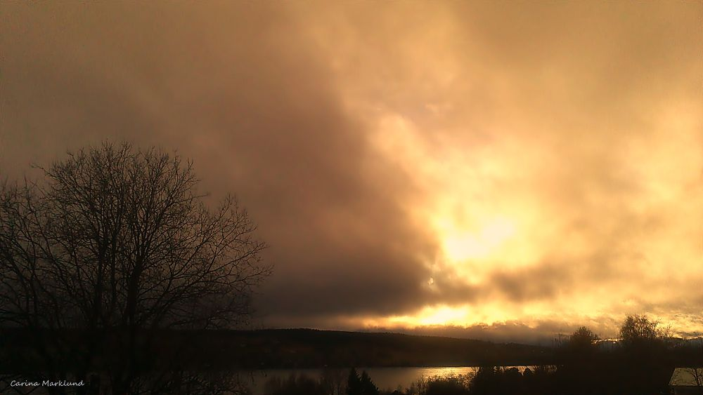 dark clouds by carro