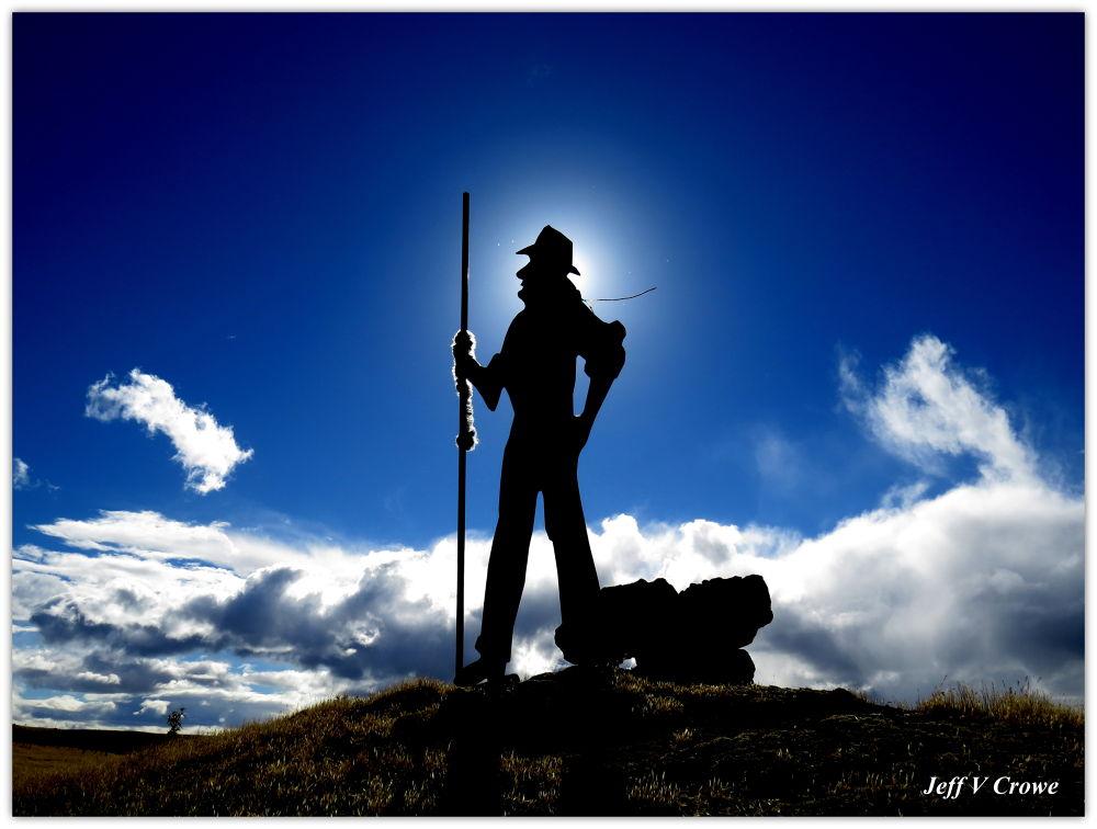 Shepherd at Sunset - Hobart - TASMANIA . by jeffcrowe562