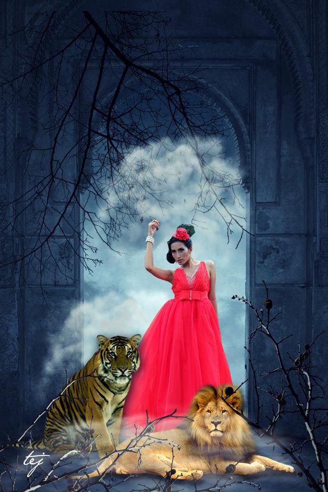 beauty N' d wild - with siska by tejphotowork