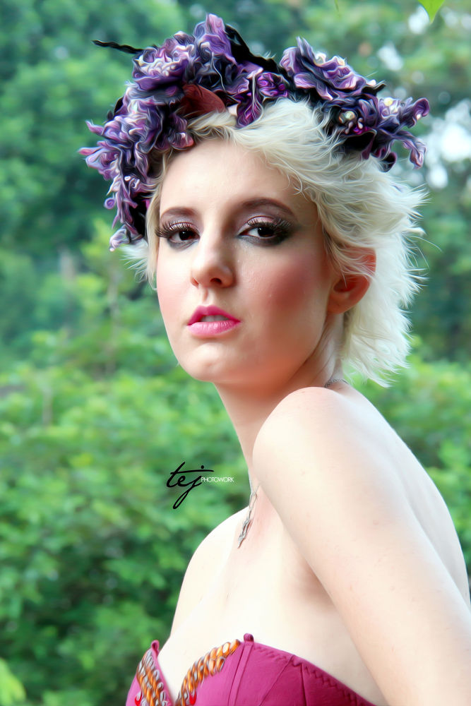 Angelica - Portraiture by tejphotowork