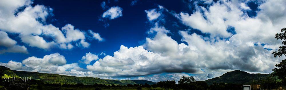 blue sky by VJ Renju