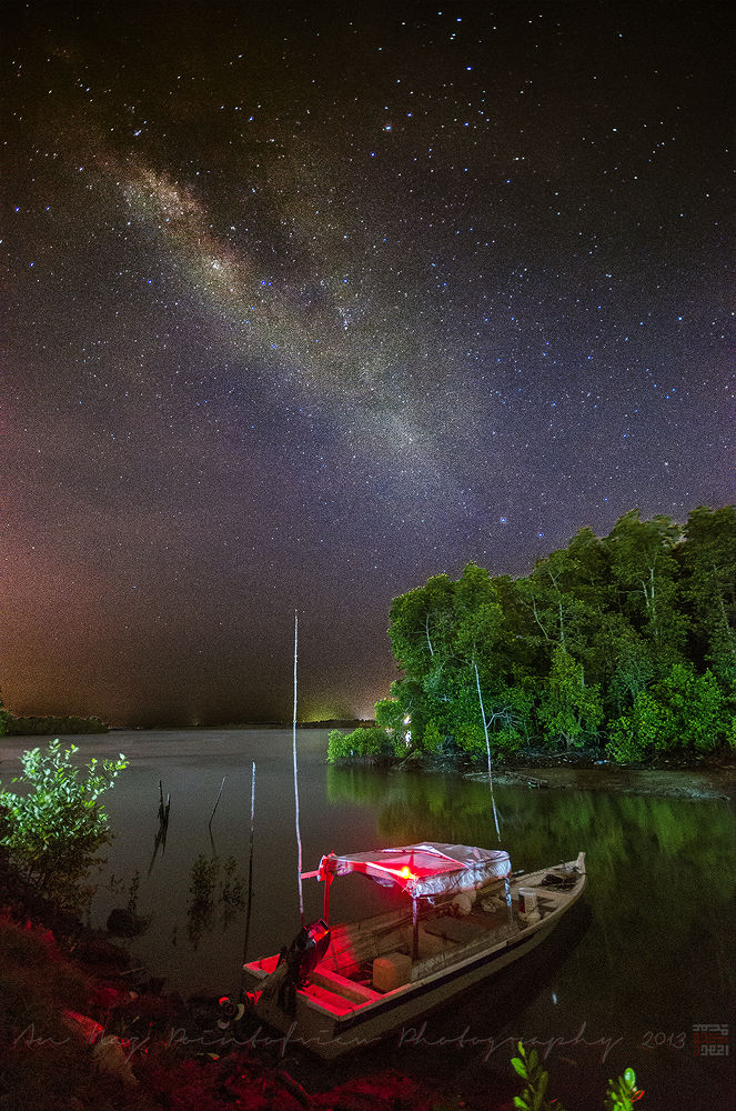 Milky Way Pulau Indah by anfieldNaz
