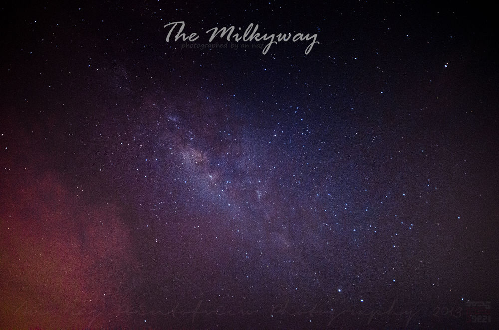 The Milky Way by anfieldNaz