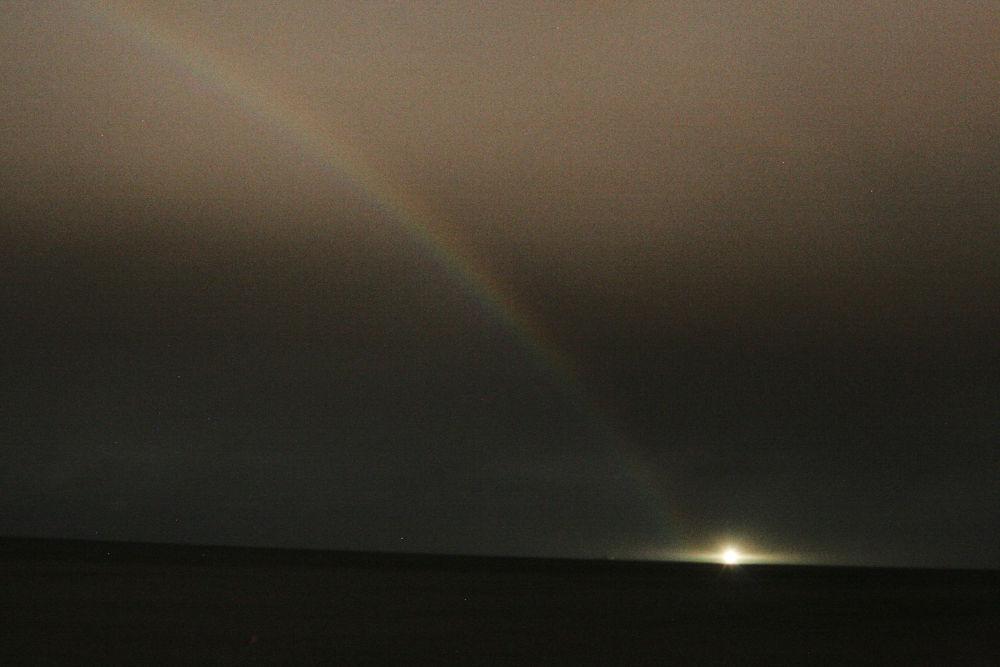 Rainbow at night...10:40 by jojo1971