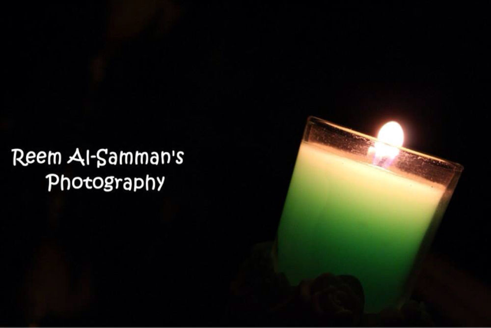 Candle  by Reem AlSamman