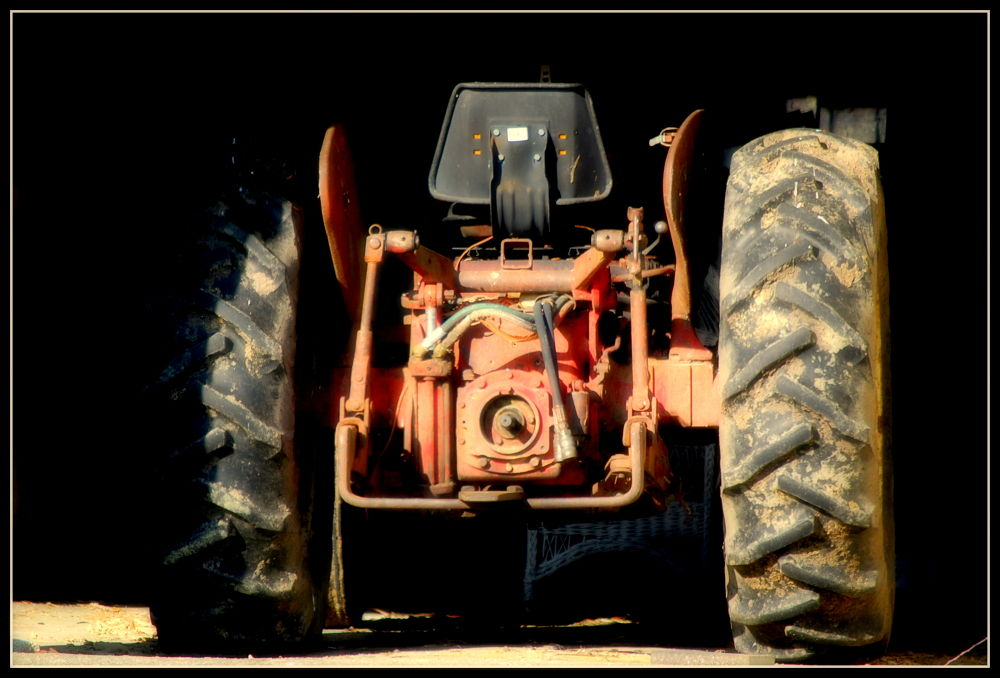 tractor by wallycatgirl
