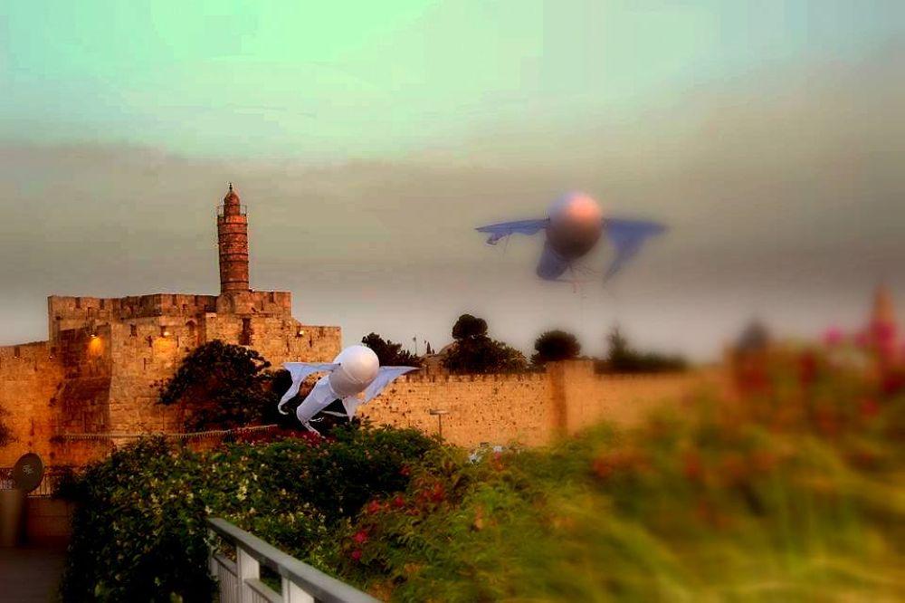 Citadel: Jaffa Gate When East meets West  by mounirkleibo
