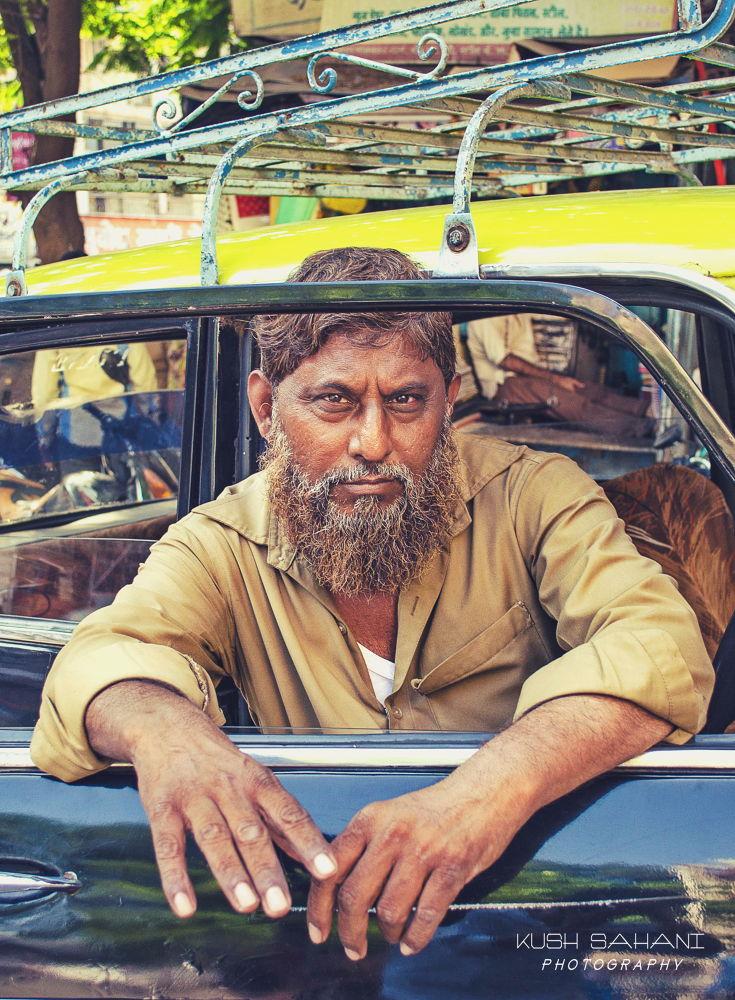A taxi driver by Kush Sahani