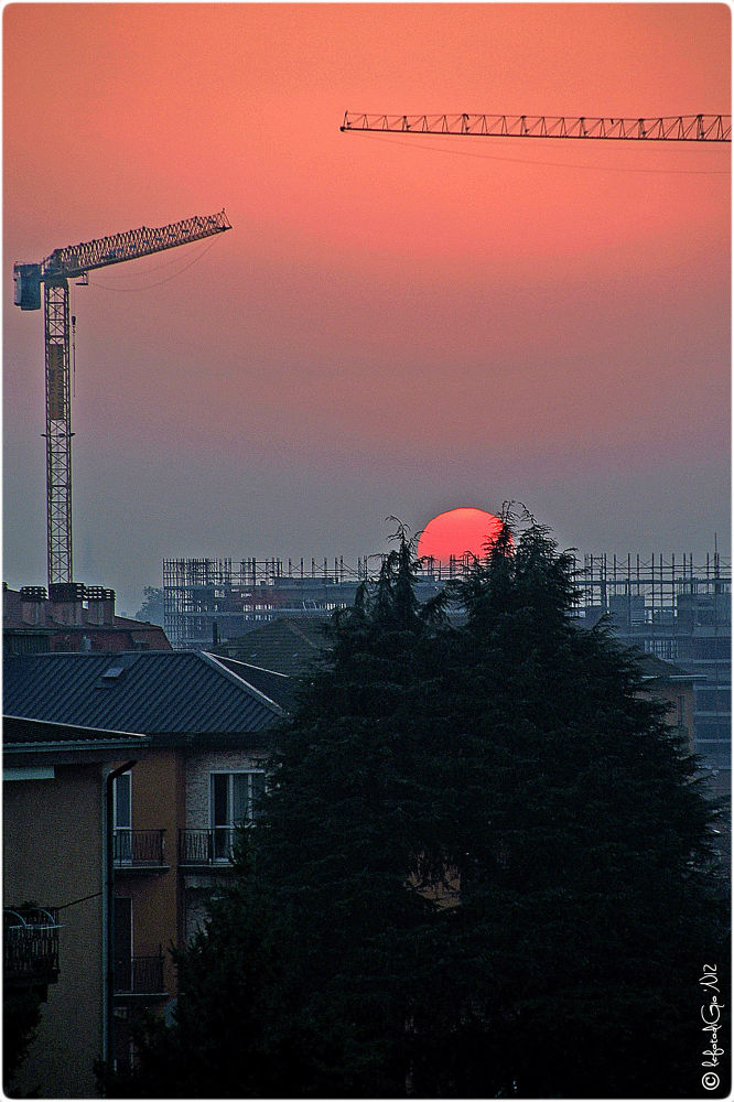 Photo in Landscape #segrate #milan #italy
