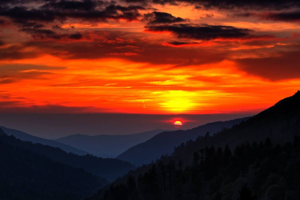 Smoky Mountain Good Bye by timothybell1800