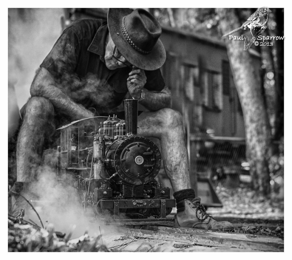 Miniature Steam Trains by Paul Sparrow