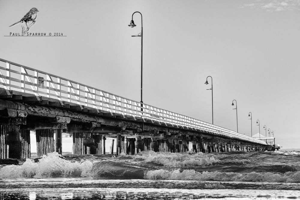 Shorncliffe jetty by Paul Sparrow