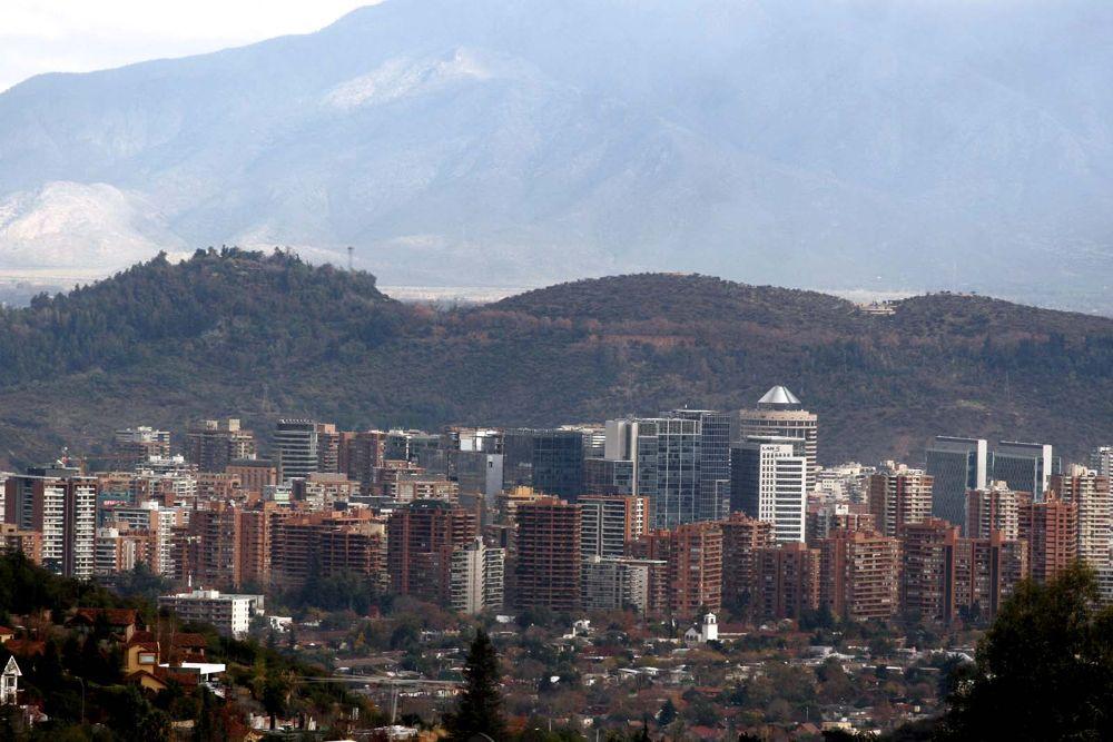 Vistas de Santiago de Chile  by rolooyarzun