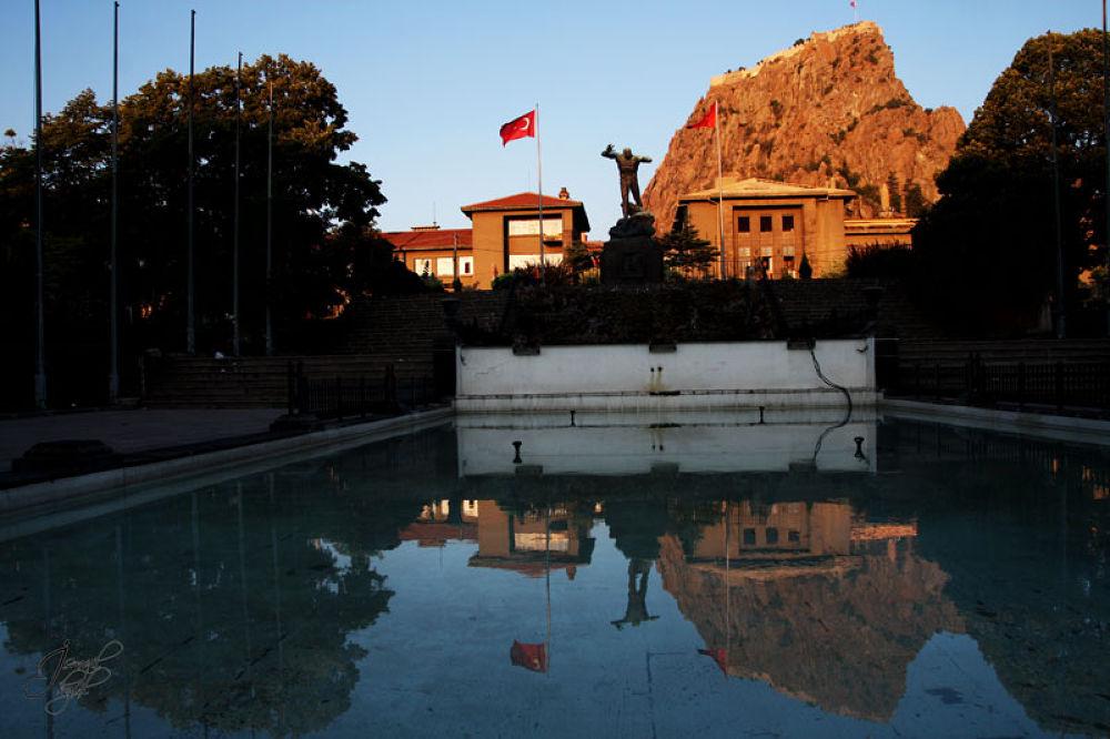 Morning Reflections -Anıtpark/Afyonkarahisar/Turkey- by ismailakgul