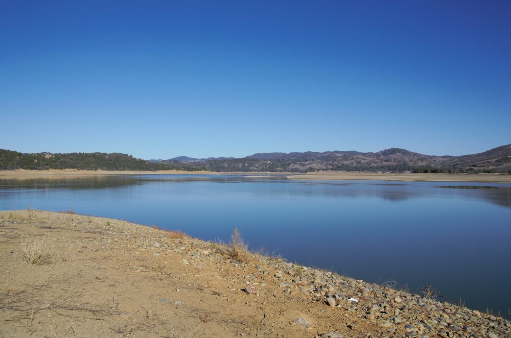 Photo in Landscape #i found water #cloudless sky