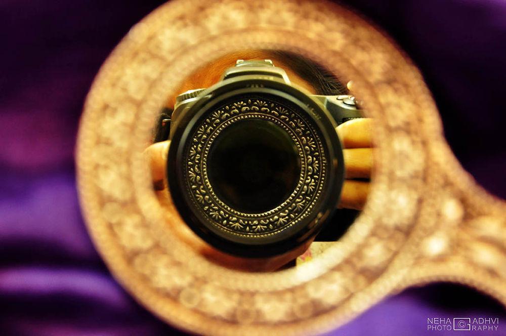 """ Border of mirror in Lens "" by NehaGadhvi"