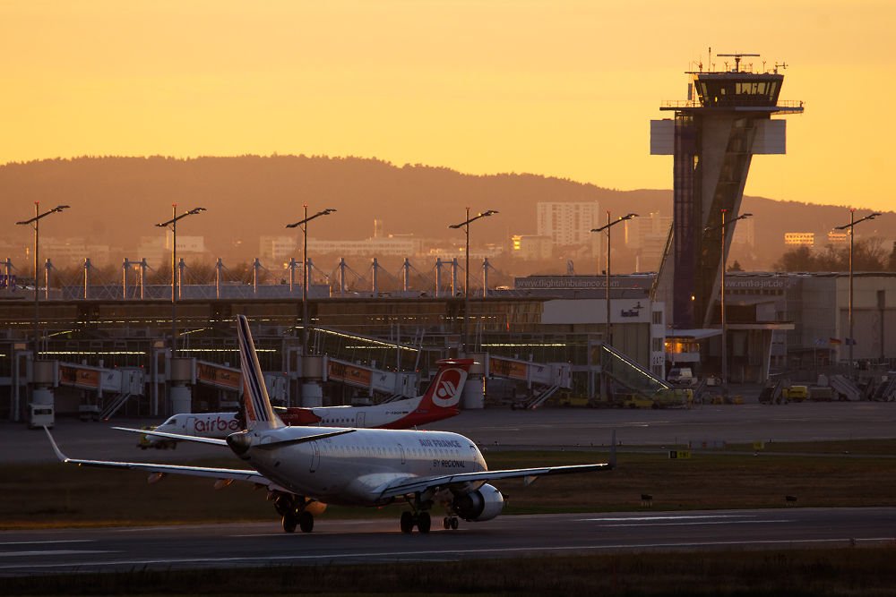 Takeoff Into The Sunset by Juergen Mayer