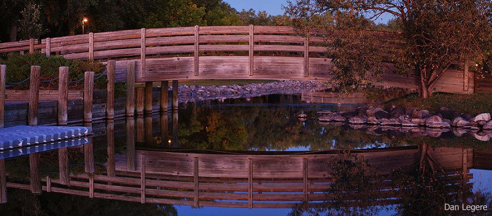 Glowing Bridge by DanLegere